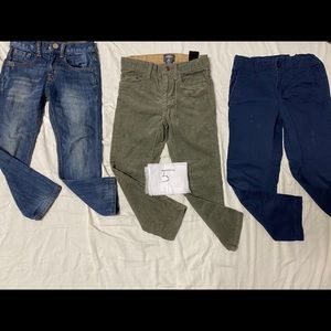 3 piece pants/ Jeans size 5 years old